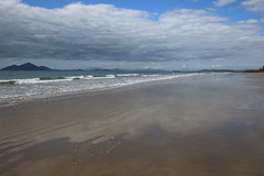 Mission Beach (135) Clouds Dunk Island (sixdos) Tags: sea sky beach clouds sunrise canon reflections australia queensland missionbeach tropicalnorthqueensland farnorthqueensland dunkisland canoneos7dmarkii missionbreaze