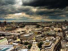 View from St Pauls Cathedral London (travel-photographie.de) Tags: city london st cathedral pauls stadt aussicht drausen