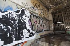 war games (eb78) Tags: streetart graffiti israel telaviv wheatpaste middleeast