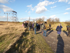 Walking group at Swanscombe