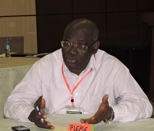 Dr. Funso Sonaya, principal investigator in the Nigeria country team
