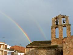 Arc de Sant Marti (Jordi Domnech i Arnau) Tags: catalunya campanar segri meteorologia arcdesantmart romnicromanesque esglsiachurch