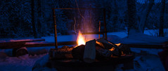 IMG_0611 (juusomattila) Tags: camping winter night fire hiking campfire tuli vaellus nuotio