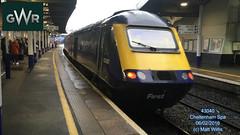 GREAT WESTERN RAILWAY 43040 REAR OF 0859 SWINDON AT CHELTENHAM SPA 06022016 (MATT WILLIS VIDEO PRODUCTIONS) Tags: rear great swindon railway western spa cheltenham at of 0859 43040 06022016
