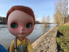 Leo & Polly joining me for a trip to the Rhein