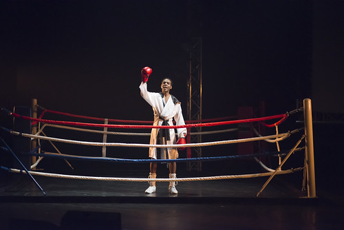 Jason Nemor Harden som Muhammad Ali