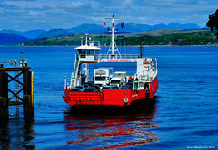 Scotland car ferry Sound of Seil arriving at Gourock full of cars from Argyll 9 June 2015 by Anne MacKay (Anne MacKay images of interest & wonder) Tags: sea car june by ferry landscape anne scotland ship picture 9 sound western mackay passenger ferries gourock docking arriving seil 2015 xs1