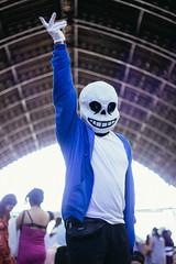 BAD TIME (Francohman) Tags: chile santiago portrait skull evento aex sans undertale