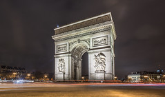 Arc de Triomphe de l'toile, Place Charles de Gaule. (Gordon Haws) Tags: paris france eiffeltower toureiffel arcdetriomphe etoile champselysee isledefrance placecharlesdegaule arcdetriomphedeltoile