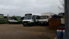 Emsworth Minibuses (PD3.) Tags: road uk england west bus buses bedford sussex mercedes coach district hampshire turbo alexander clovelly stagecoach reeve burgess psv pcv emsworth hants havant jyj p972 p817 p817rex southourne n906 rexn906nap napb972jyj