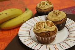 Cupcakes de Banana (Recetas de Pasteles) Tags: cooking baking blog banana cocina cupcake muffin dulcedeleche receta bananamuffin repostera bananacupcake cupackes cupcakedebanana recetacupcake bananaydulcedeleche banoffeemuffin