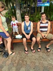 Hawaii with My Brother and Baby Cousin - Zach Conard (therealrussellwilson) Tags: hawaiitrip familyvacation mauihawaii mauiaquarium babycousin