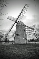 IMG_0099-001 copy (Silverio Photography) Tags: old blackandwhite windmill monochrome photoshop canon island newengland sigma elements rhode 1770 hdr topaz adjust 60d