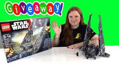 LEGO Star Wars Force The Awakens Kylo Ren Command Shuttle 75104 Unboxing Time Lapse and GIVEAWAY (The Toy Bunker) Tags: girls boys toy toys star force lego time review giveaway shuttle ren wars command lapse unboxing the awakens 75104 kylo