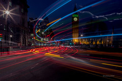 HC9Q2966-1 (rodwey2004) Tags: longexposure nightphotography landscape parliament bigben landmark lighttrails westminsterbridge