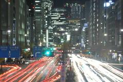 nagoya14677 (tanayan) Tags: road street light urban japan night town alley nikon cityscape view nagoya  sakura sakae  aichi j1