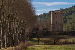 Chteau d'Arques Tower (-dangler) Tags: old travel trees france green tower castle tourism weather clouds rural landscape outside outdoors ruins europe day country scenic sunny roadtrip historic adventure daytime blueskies partlycloudy arques dandangler chteaudarques