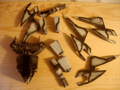 Ertl Virago WIP & Complete (Pocket kits) Tags: starwars virago ertl shadowsoftheempire
