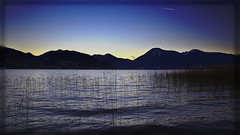 Moments before sunrise... (joseph_donnelly) Tags: sky lake alps sunrise germany bayern deutschland bavaria see moments colours clear alpen sonnenaufgang tegernsee affinity badwiessee affinityphoto