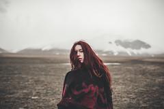 Sam (Greatbigwhale) Tags: italy woman mountains girl digital 35mm nikon dof dream sigma depthoffield redhead dreamy dslr fx umbria castelluccio festbrennweite 35mm14 d700 nikond700 sigma3514 tuscanyfg15