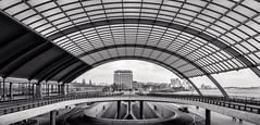 BW Bow in symmetry (Jean-Marc Kessely !) Tags: street blackandwhite bw amsterdam nikon thenetherlands streetphotography bnw amsterdamcentral jeanmarckessely jmkesselyphotography
