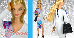 """Mueca"" on/en EBAY (marcelojacob) Tags: one model doll dress ooak jacob barbie muse kind claudia marcelo"