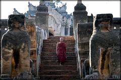 Mi Ma Laung - Myanmar (davi85travel) Tags: people beautiful temple photo amazing ancient asia photographer buddhist memories young award monk buddhism adventure backpacking photograph temples stunning myanmar southeast backpacker bagan flickrtravelaward followmefaraway utravelshare