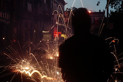 light show (louie imaging) Tags: life camera new usa america monkey san francisco chinatown mood fireworks year chinese parade celebration celebrate lunar ambiance happychinesenewyear