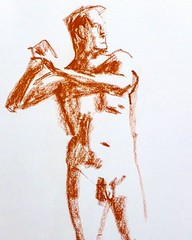 Going through the unposted... All life drawings now on my website Descart.es/mywork  Sunday 6th March 2016, independent life drawing session in Theatre Utopia @matthewsyard  Information and dates http://descart.es/lifedrawing  #art #artgallery #descartes
