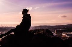 dual-camera-adventure-1 (pyffle) Tags: portrait sky selfportrait silhouette contrast nikon skies gothenburg violet rosesky nikond80 nikonphoto