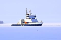 DSC_0250B (arto hkkil) Tags: winter sea snow ice finland ship oulu lumi talvi meri icebreaker j jnmurtaja   laiva    otso