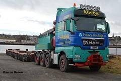 ALLELYS HEAVY HAULAGE MAN TGX 680 V8  T111 AHH (denzil31) Tags: man v8 trailers ahh wick 680 spmt t111 ospray heavyhaulage tgx allelys mantrucks towheads stgocat3 isleburn
