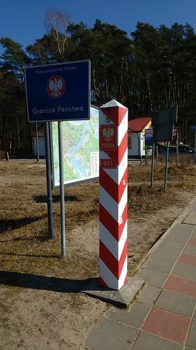 Grenzpfahl Polen