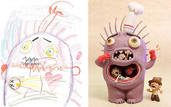 Monster Project: Artists Give New Life to Childrens Monster (jh.siesta) Tags: life monster project give artists childrens