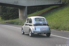 Spotting 2011 - Fiat 500 (Deux-Chevrons.com) Tags: auto classic car classiccar automobile belgium belgique fiat automotive voiture collection coche oldtimer collectible 500 collector fiat500 emeraude ancienne classique ancêtre baladedelemeraude