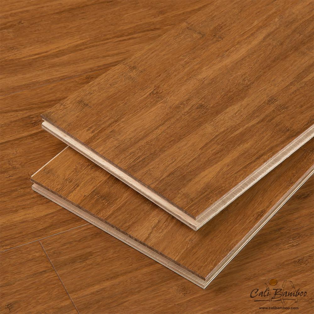 Engineered bamboo flooring handscraped strand woven for Engineered bamboo flooring