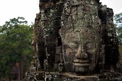 Bayon temple faces (Jonathan Stening) Tags: statue ancient nikon ruins cambodia manmade kh fx siemreap bayon krongsiemreap nikond750 jonathanstening