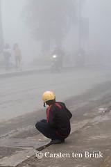 Sapa squat and fog (10b travelling) Tags: mist fog french asian asia asien southeastasia vietnamese northwest colonial vietnam valley asie sapa hmong hillstation laocai indochine squatting indochina 2015 làocai tenbrink muonghoa carstentenbrink iptcbasic 10btravelling