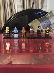 Who watches the Watchmen? (ebrandonje) Tags: dc lego manhattan dr watch silk owl superhero comedian watchmen nite spectre ozymandias rorshach