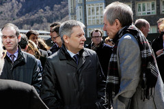 Minut de silenci.Suport al poble de Brussel·les.23-03-2106 (Govern d'Andorra) Tags: andorra silenci bèlgica minut brussel·les atemptats