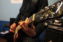 IMG_5248 (PsychopathPh) Tags: la sala musica toscana anima prato nell cantante musicisti prove chitarrista bassista batterista inaudito