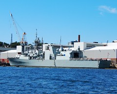 HMCS FREDERICTON (Roger Litwiller -Author/Artist) Tags: navy royal canadian fredericton halifax hmcs rcn