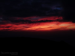Lines of fire [Explored] (gjaviergutierrezb) Tags: sunset clouds atardecer fire
