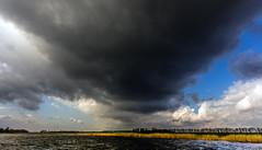Dark cloud (Juergen Huettel Photography) Tags: blue sky cloud nature dark