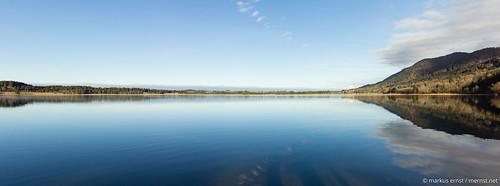 Lake panorama.
