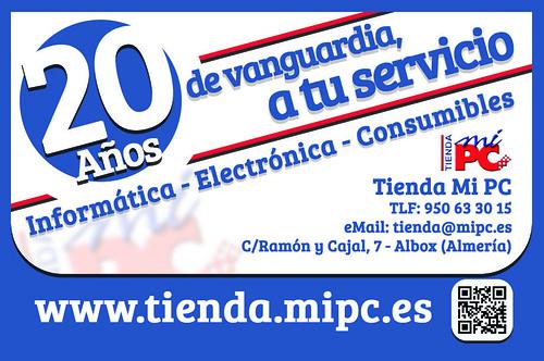 Tarjeta Visita - Tienda MiPC