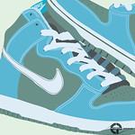 Nike Shoe Vector