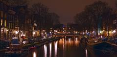 Amsterdam Light (MaiGoede) Tags: city holland netherlands amsterdam night nikon nightscene nightview grachten nightpicture niederlande rheinkreuzfahrt