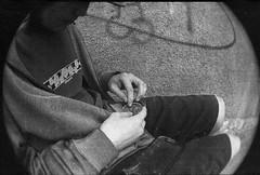 (catatonic0) Tags: chile street bw film 35mm weed kodak smoke bn arica marihuana
