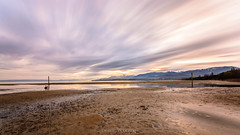 Beach (Un oeil sur la photo) Tags: longexposure morning sun beach soleil nikon plage matin aube poselongue nd1000